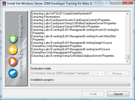 Windows Server 2008 Developer Training Kit