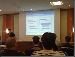 Thorsten Hans bei der Session zu MSBuild 4.0