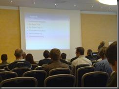 Bernd Marquard bei der TPL-Session